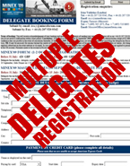 Multiple Delegates Registration Form - Available Online Only