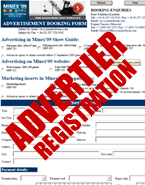 Advertiser Registration Form - PDF